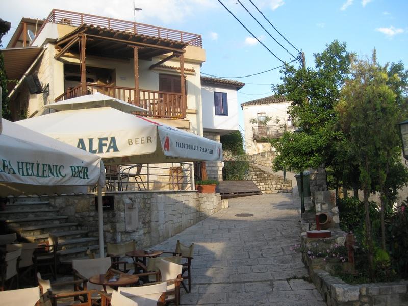 Halkidiki-Afitos-Sokak