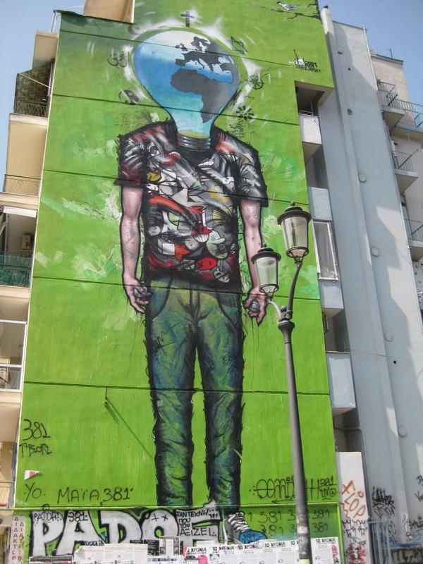 Selanik-Graffiti