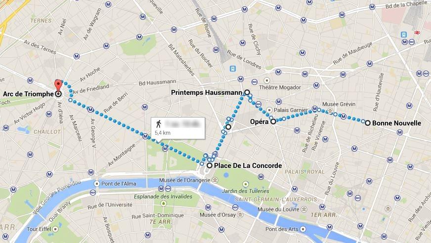 Paris-Ilk gun rota