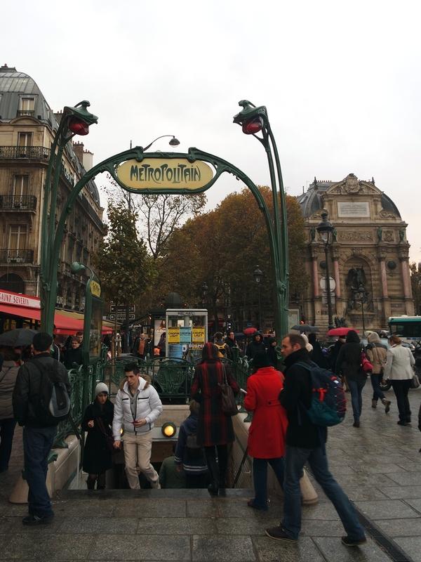 Paris ne g rd m - Saint michel paris metro ...