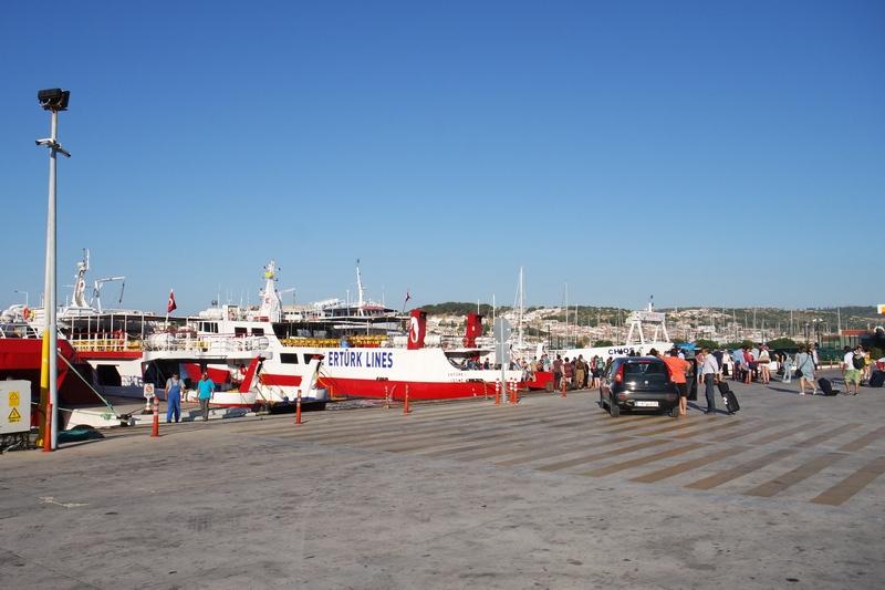 Çeşme limanı feribot