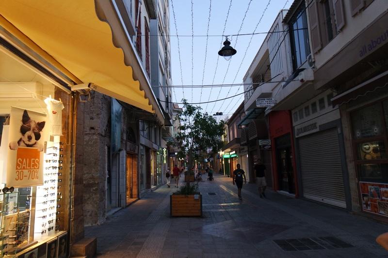 Sakız adası sokak
