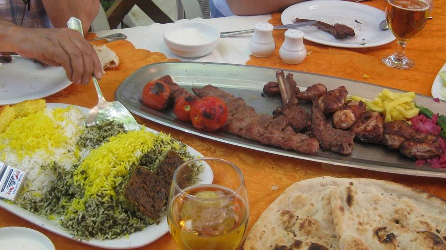 Tahran-Evin-Yemek