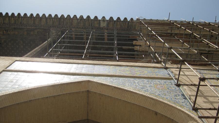 İsfahan Ali Kapı Sarayı