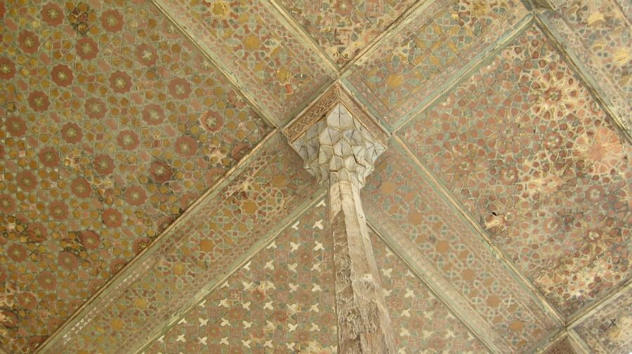 Ali Kapı Sarayı Ahşap Tavanı