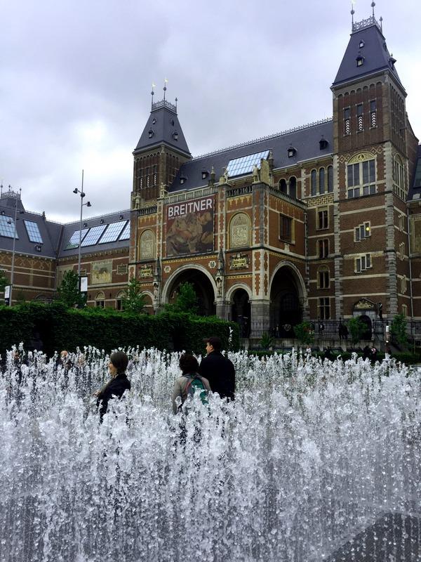 Amsterdam-Rijks-Bahce