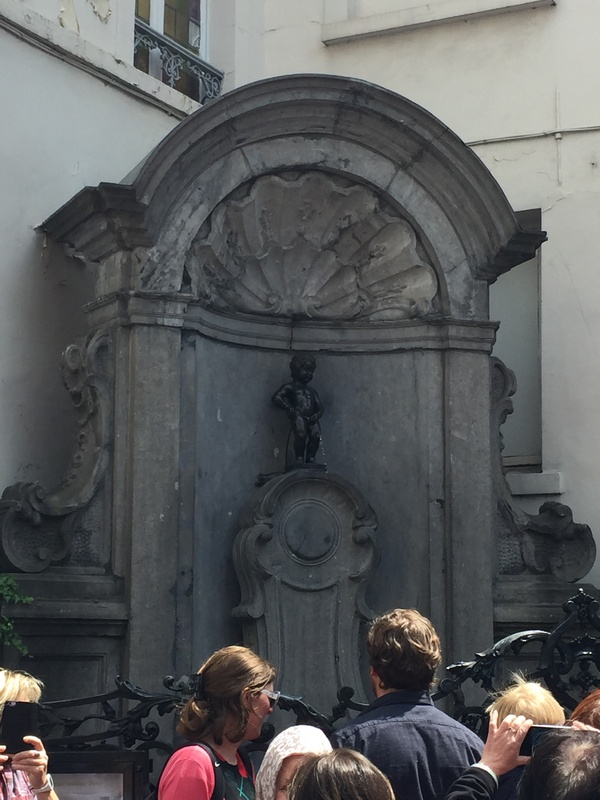 Bruksel-Manneken Pis